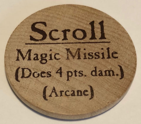 Scroll Magic Missile - 2003 (Woodie)