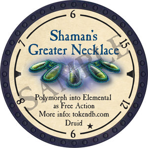 Shaman's Greater Necklace - 2019 (Blue) - C21