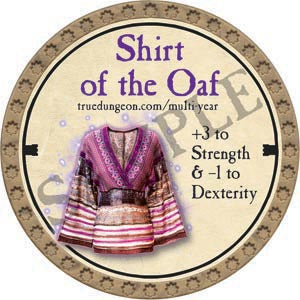[2020 Preorder] Shirt of the Oaf - 2020 (Gold)