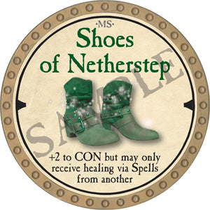 Shoes of Netherstep - 2019 (Gold) - C22