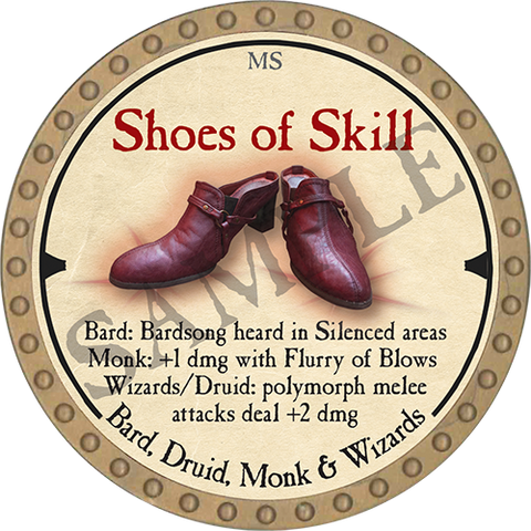Shoes of Skill - 2019 (Gold)