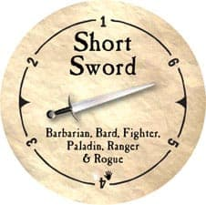 Short Sword - 2005a (Woodie)