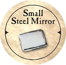 Small Steel Mirror - 2006 (Woodie)
