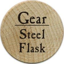Steel Flask - 2005a (Woodie)