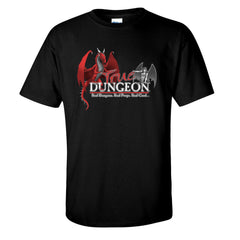 +5 Persuasion True Dungeon Dragon and Harpy T-Shirt