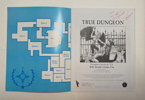 True Dungeon Adventure Module TD9 2009