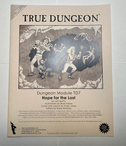 True Dungeon Adventure Module TD7 2008