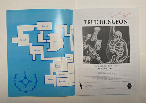 True Dungeon Adventure Module TD8 2009