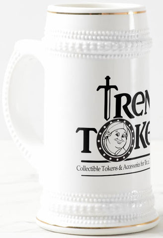 +4 Ultra Rare Stein of Trentus (White/Gold)