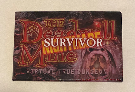 True Dungeon The Deadwill Mine Completion Button (Nightmare Survivor) - 2020/2021