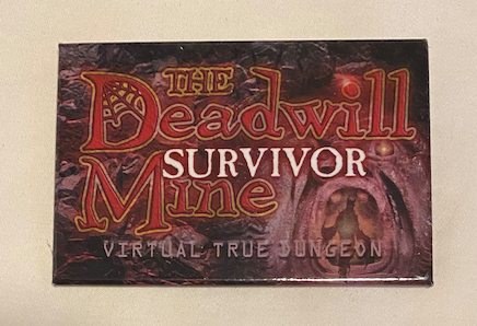 True Dungeon The Deadwill Mine Completion Button (Survivor) - 2020/2021