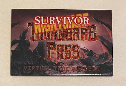 True Dungeon Thornbarb Pass Completion Button (Nightmare Survivor) - 2020