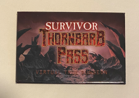 True Dungeon Thornbarb Pass Completion Button (Survivor) - 2020