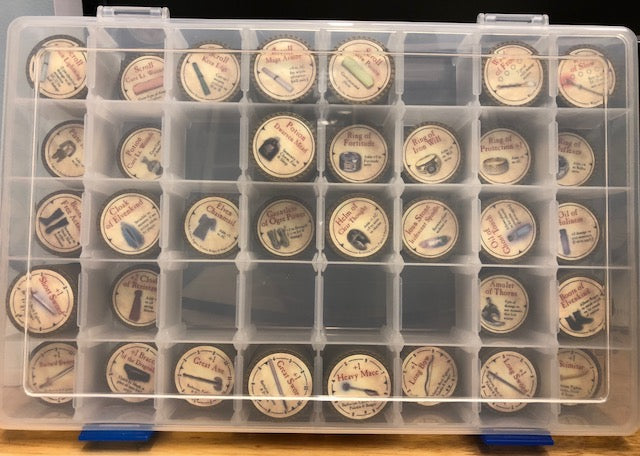 Token Container - 40 Compartments