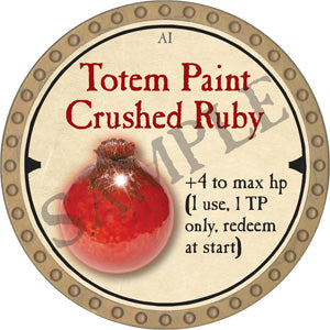 Totem Paint Crushed Ruby - 2019 (Gold)