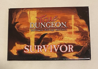 True Dungeon True Grind Completion Button (Survivor) - 2019