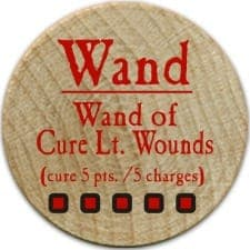 Wand of Cure Lt. Wounds - 2005a (Woodie)