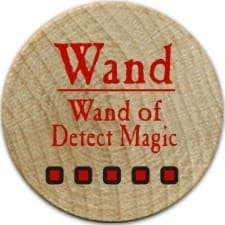 Wand of Detect Magic - 2005a (Woodie)
