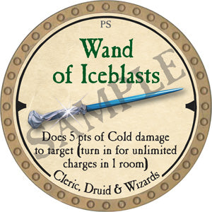 Wand of Iceblasts - 2019 (Gold)