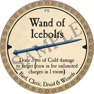 Wand of Icebolts - 2019 (Gold)