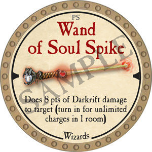 Wand of Soul Spike - 2019 (Gold)