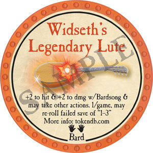 Widseth's Legendary Lute - 2019 (Orange) - C26