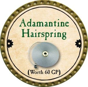 Adamantine Hairspring - 2013 (Gold)