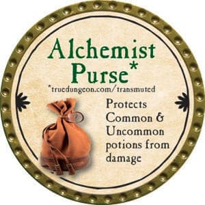 Alchemist Purse - 2015 (Gold) - C37