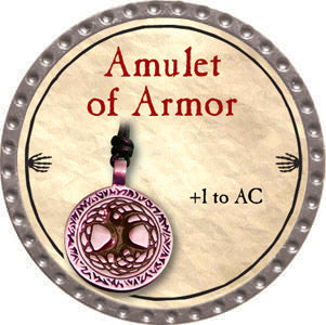 Amulet of Armor - 2012 (Platinum) - C37
