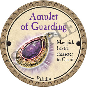 Amulet of Guarding - 2017 (Gold)