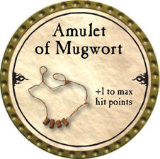 Amulet of Mugwort - 2010 (Gold) - C37