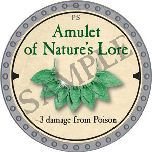 Amulet of Nature's Lore - 2019 (Platinum)