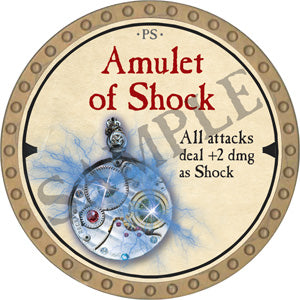 Amulet of Shock - 2019 (Gold) - C37