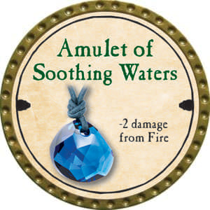 Amulet of Soothing Waters - 2014 (Gold)