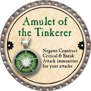 Amulet of the Tinkerer - 2013 (Platinum)