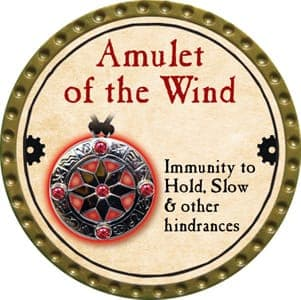 Amulet of the Wind - 2013 (Gold)