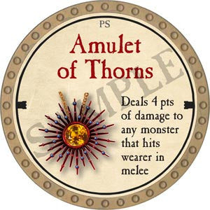 Amulet of Thorns - 2020 (Gold)