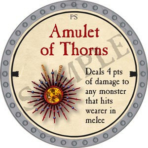 Amulet of Thorns - 2020 (Platinum)