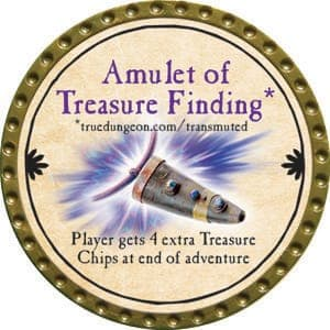 Amulet of Treasure Finding - 2015 (Gold) - C38