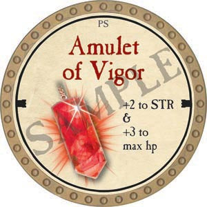 Amulet of Vigor - 2020 (Gold)