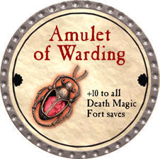 Amulet of Warding - 2011 (Platinum) - C37