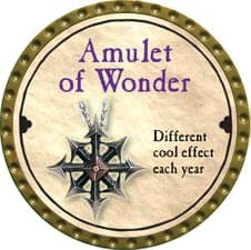 Amulet of Wonder - 2008 (Gold) - C49