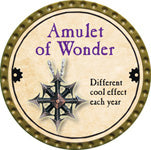 Amulet of Wonder - 2013 (Gold) - C3