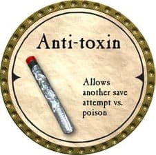 Anti-toxin (C) - 2007 (Gold)
