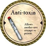 Anti-toxin (C) - 2008 (Gold) - C37