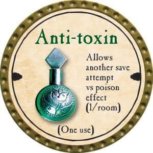 Anti-toxin (UC) - 2014 (Gold)
