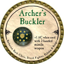Archer's Buckler - 2010 (Gold) - C22