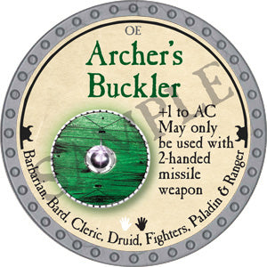 Archer's Buckler - 2018 (Platinum)
