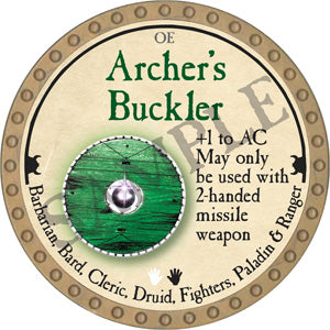Archer's Buckler - 2018 (Gold)