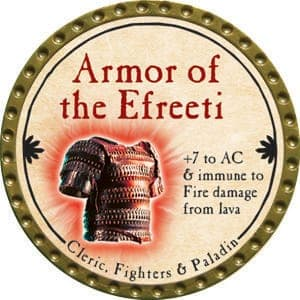 Armor of the Efreeti - 2015 (Gold)